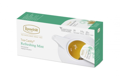 Ronnefeldt TeaCaddy Refreshing Mint (Освежающая мята) 20 шт