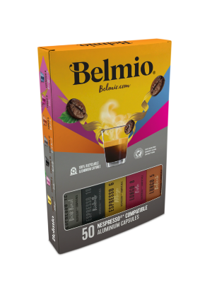 Подарочный набор Belmio Classic luxury collection 50 капсул