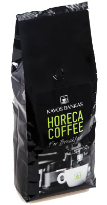 Кофе в зернах Kavos Bankas Horeca Coffee For Breakfast
