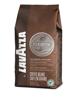 Кофе в зернах Lavazza Tierra Arabica Selection