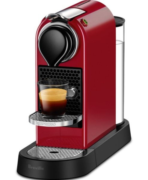 Кофемашина Nespresso Citiz Red